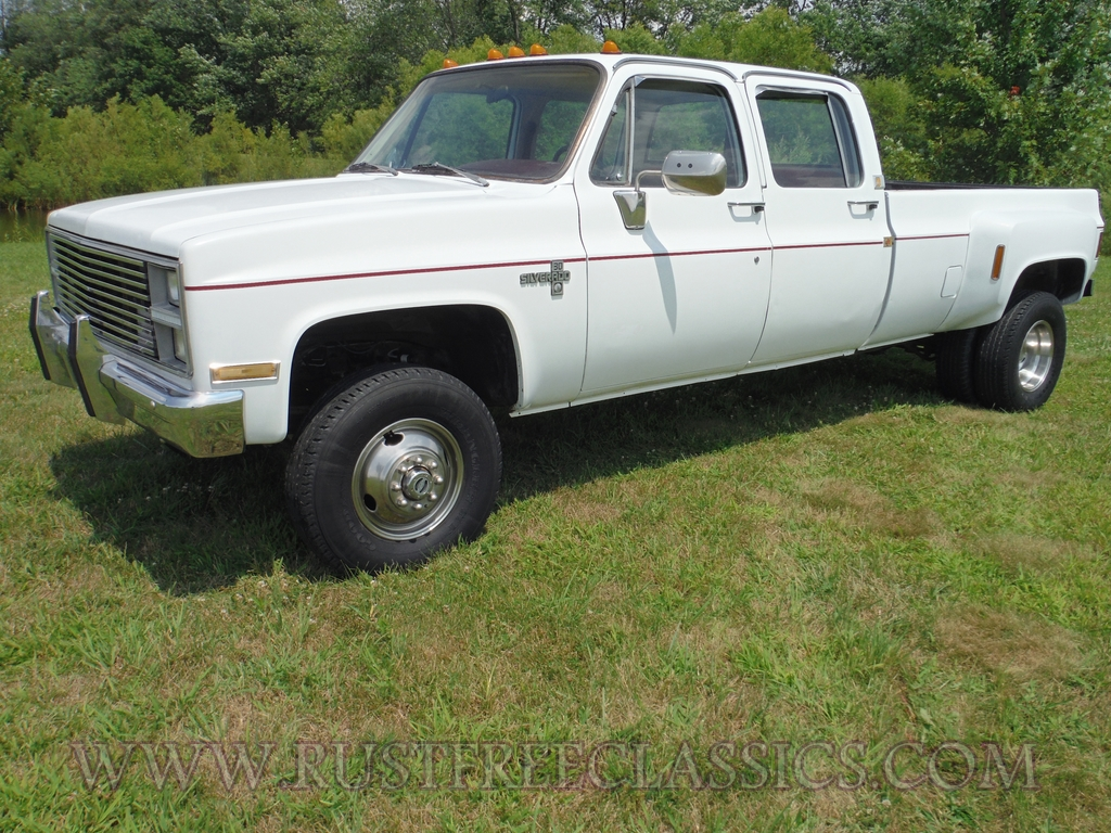 All Chevy c30 chevy : 1984 84 Chevrolet Chevy C30 1 one ton 4x4 Four Wheel Drive crew ...